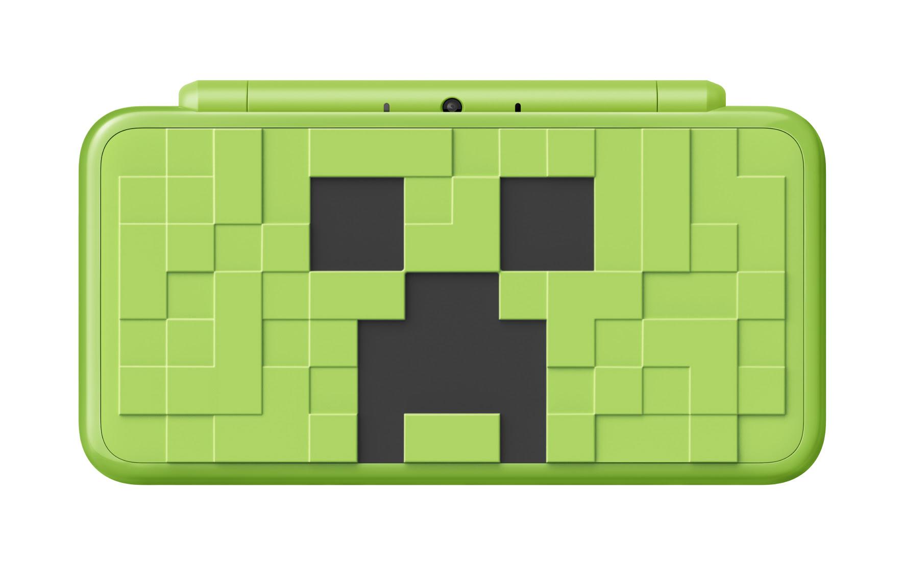 Nintendo presenta nueva New Nintendo 2DS XL basada en Minecraft