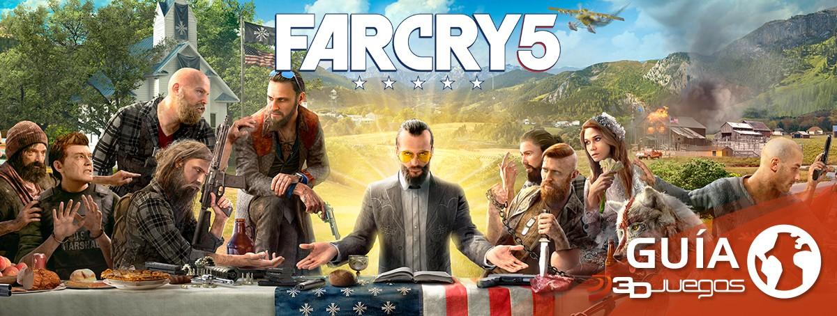 Guía Far Cry 5: Trucos y consejos y secretos