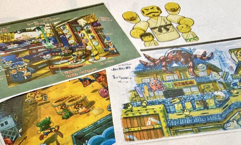 Artes publicados por Famitsu (vía Nintendo Life)