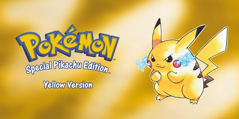 Ilustración de Pikachu para Pokémon Amarillo