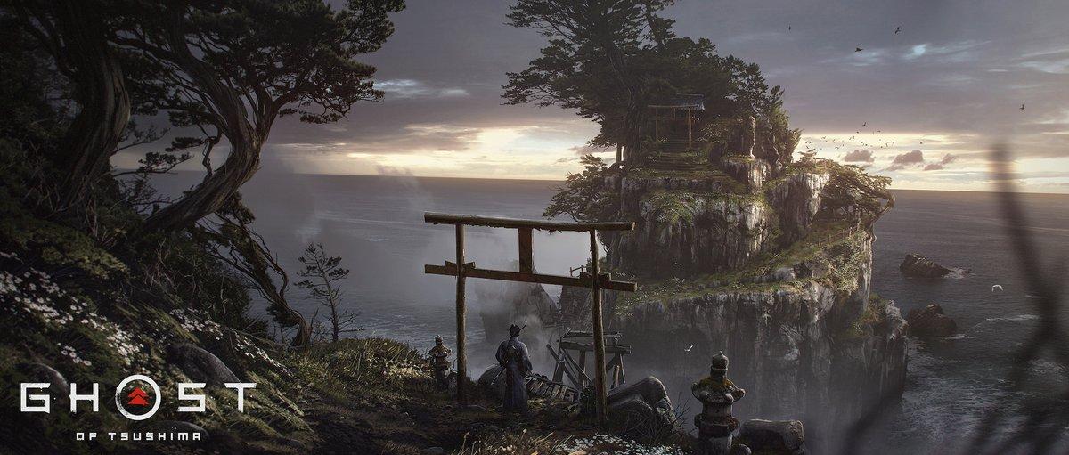 Ghost of Tsushima muestra en imágenes sus hermosos escenarios