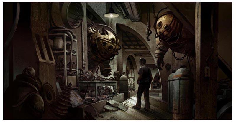 BioShock filtra varias ilustraciones de su película cancelada