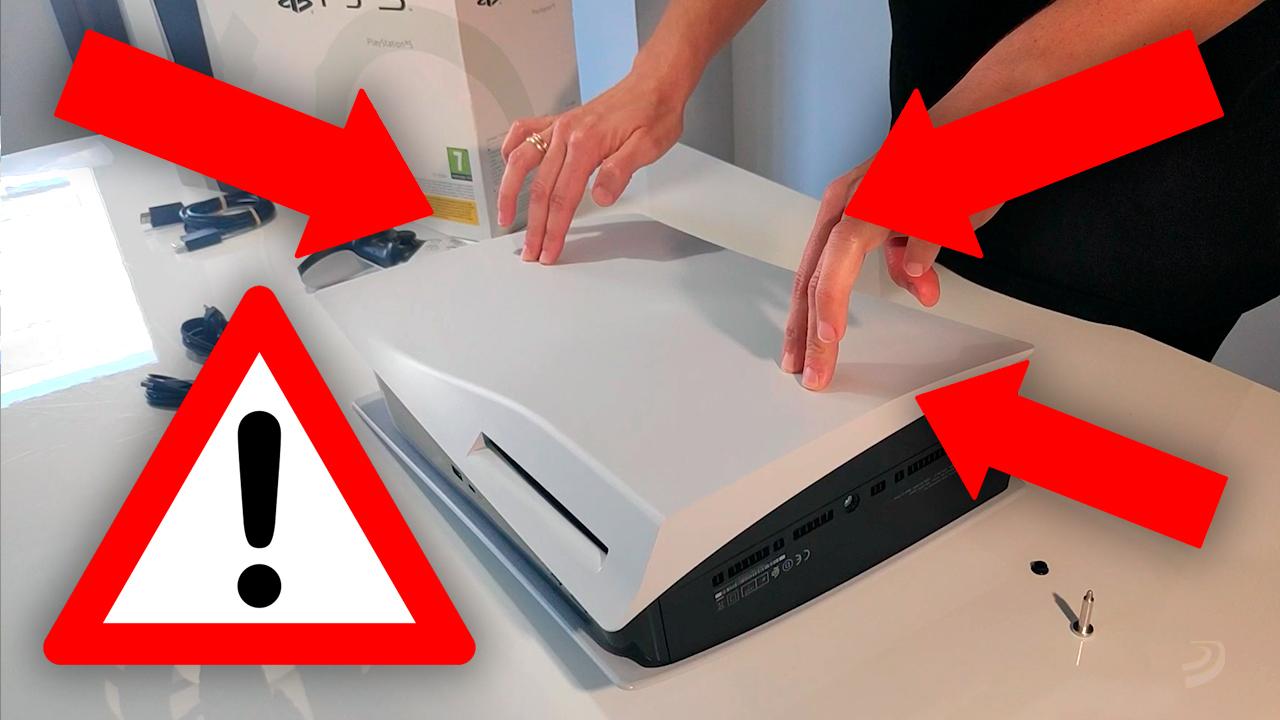 """Si no quieres que tu PS5 """"tiemble"""" en horizontal como en algunos unboxings, te contamos cómo evitarlo"""