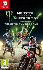 Carátula de Monster Energy Supercross - Nintendo Switch