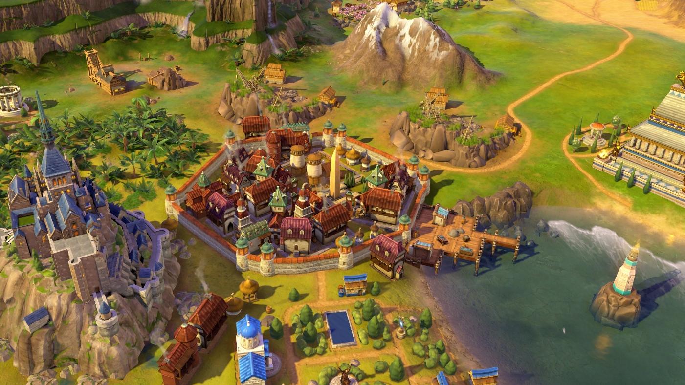 Tamara se pone al mando de Georgia en Civilization VI: Rise and Fall