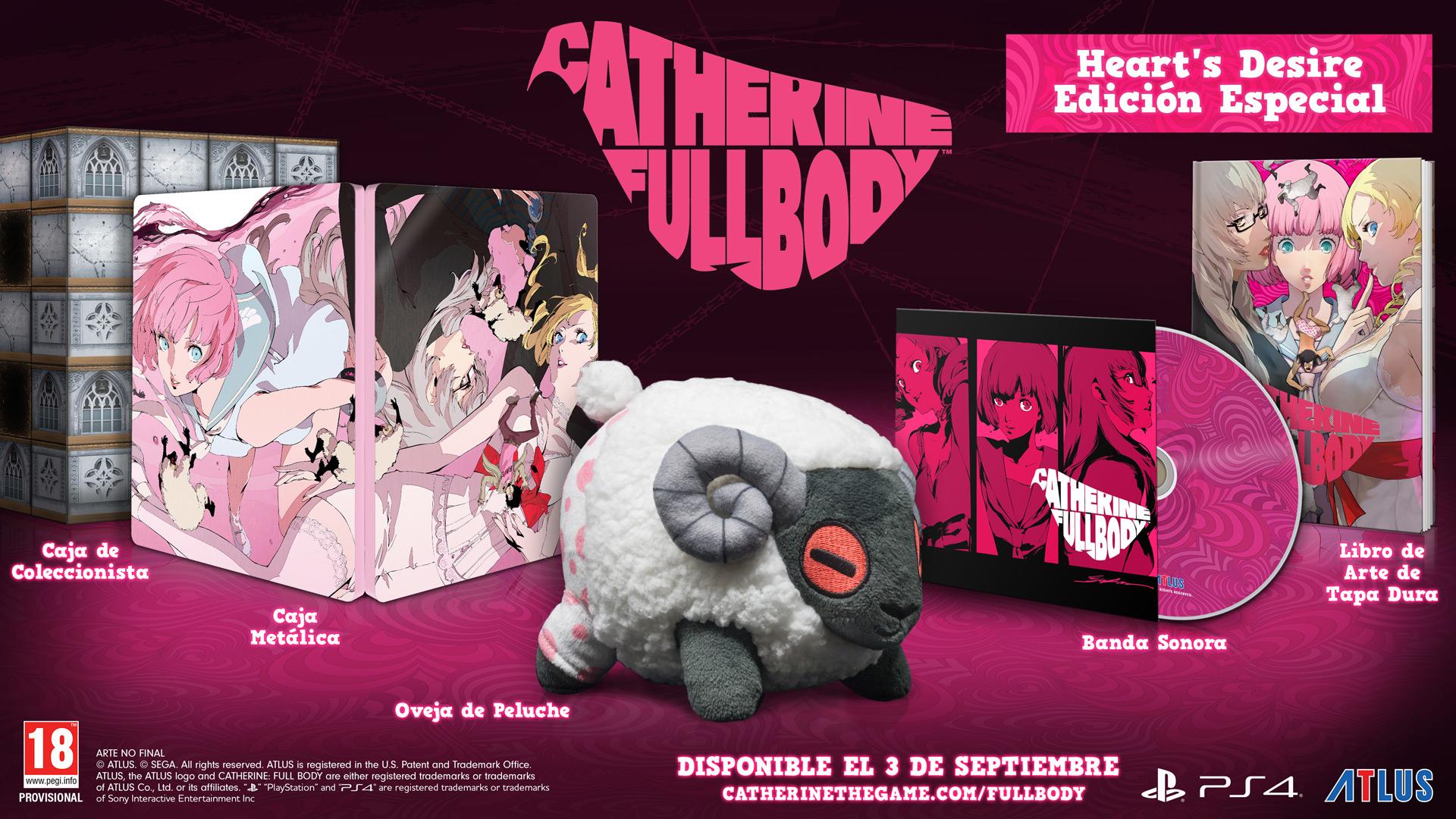 Catherine: Full Body ya tiene fecha de lanzamiento ¡y edición de coleccionista!