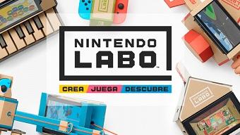 Así es Nintendo Labo: los juguetes de cartón conquistan Switch