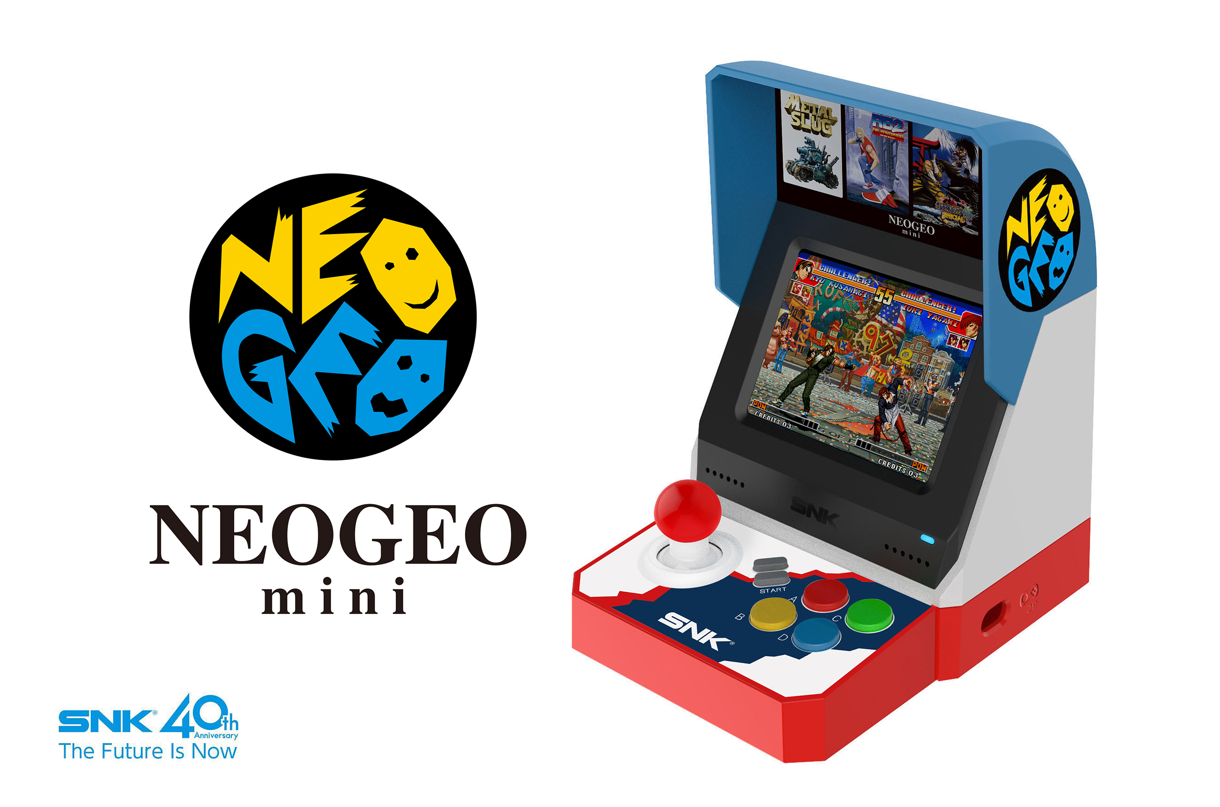 Anunciada la Neo Geo Mini con 40 videojuegos