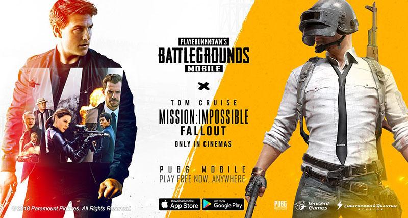 PUBG Mobile se alía con la película Misión Imposible: Fallout