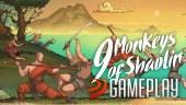 Artes marciales, poderes místicos y golpes Kung-Fu en nuestro gameplay de 9 Monkeys of Shaolin