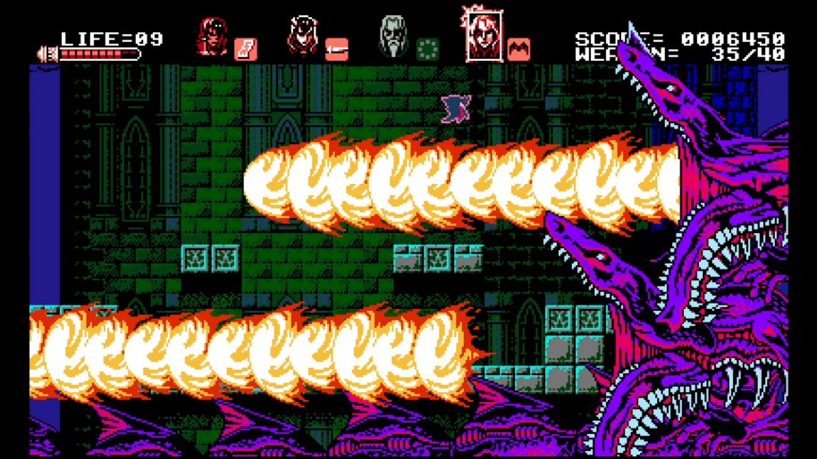 Bloodstained Curse of the Moon 3DS