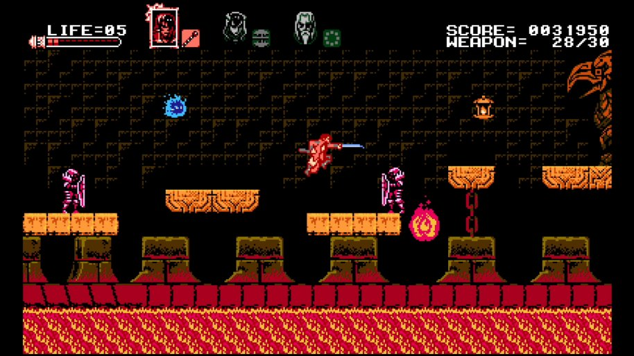 Bloodstained Curse of the Moon análisis