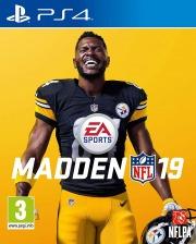 Carátula de Madden NFL 19 - PS4