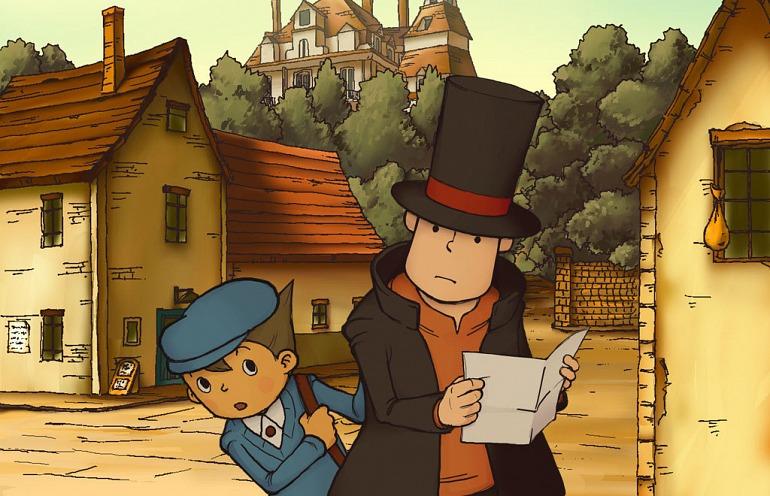 Profesor Layton y la Villa Misteriosa