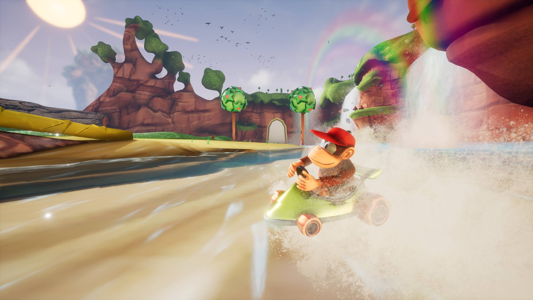 Un aficionado recrea Diddy Kong Racing con el Unreal Engine 4