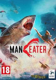 Carátula de Maneater - Nintendo Switch