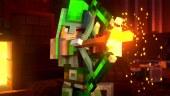 Tráiler de Minecraft Dungeons: el RPG de acción recibe juego cruzado