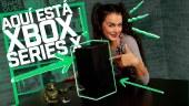 Unboxing de Xbox Series X, ¿cómo es la caja de la nueva Xbox y qué incluye? Cables, puertos, mando, etc.