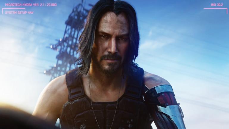Donde no será un 'deepfake' Keanu Revees será en Cyberpunk 2077.