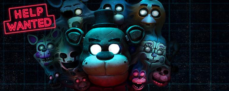 Image tirée de Five Nights at Freddy's VR: aide recherchée