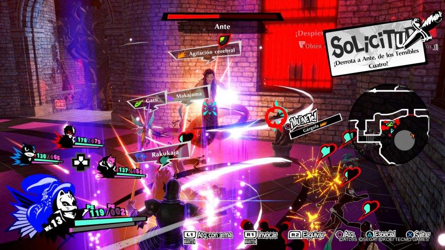 Persona 5 Strikers análisis