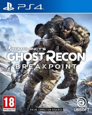 Carátula de Ghost Recon: Breakpoint - PS4