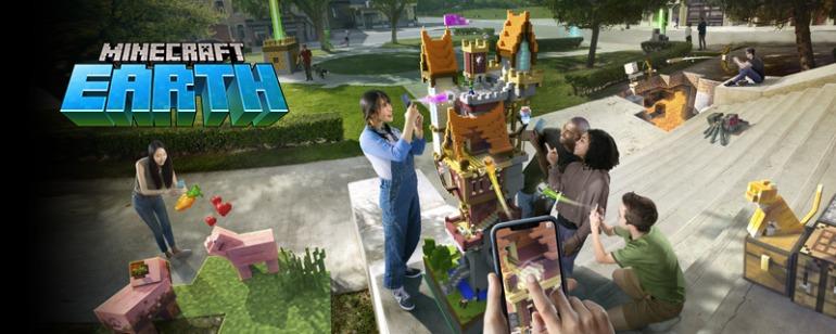 Imagen de Minecraft Earth