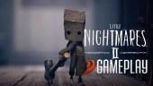 Exploración, puzles y combates en nuestro viaje por el hospital de Little Nightmares 2. ¡Gameplay!