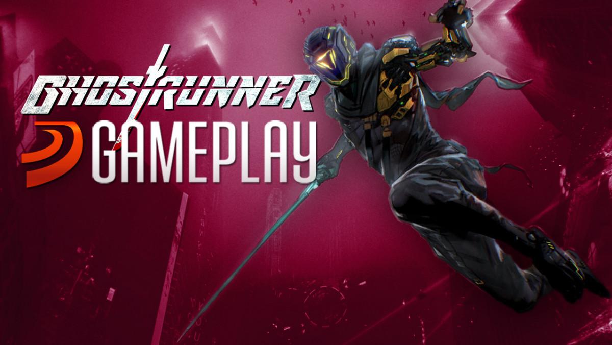 Así es correr y cortar en Ghostrunner, una suerte de Mirror's Edge cyberpunk