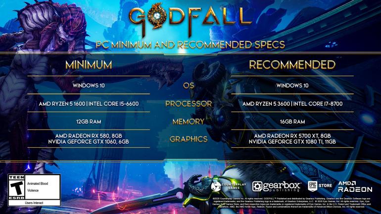 Image of Godfall