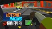 Volamos hacia la meta en nuestra primera toma de contacto gameplay con Hotshot Racing