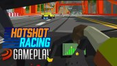 Buscamos la victoria en carreras trepidantes de gráficos retro con Hotshot Racing