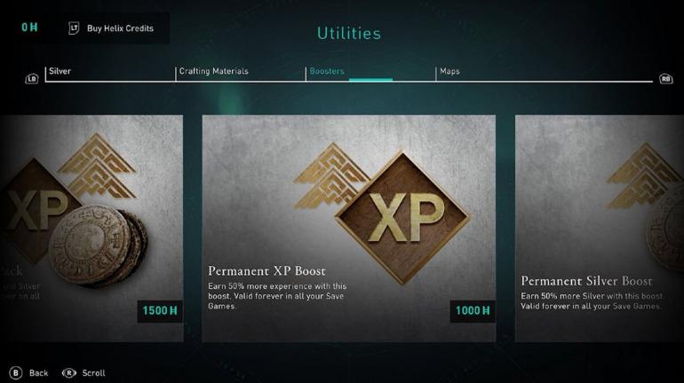 Potenciadores de Assassin's Creed Valhalla. Foto: Game Informer
