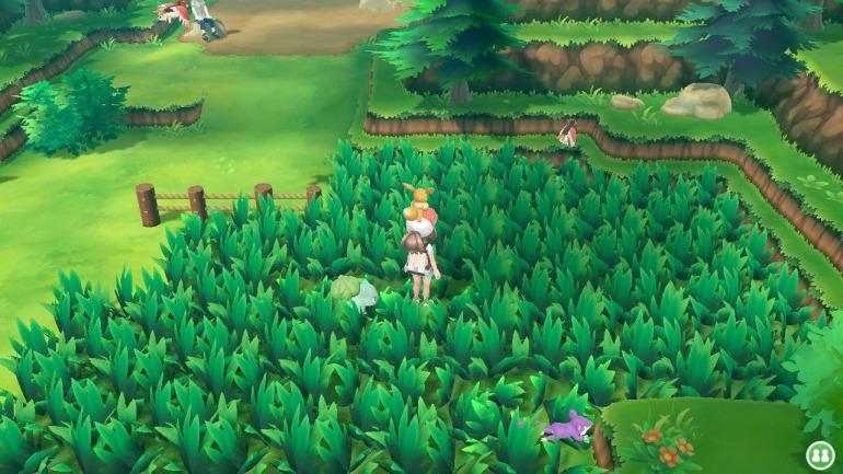 """Pokémon introdujo la mecánica de """"hierba alta"""" en los encuentros para que el jugador decidiera y supiera cuándo va a luchar."""