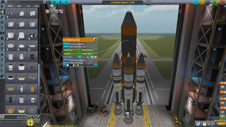 Kerbal Space Program. Un título totalmente entregado a sus físicas y reglas