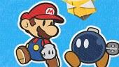 Vídeo gameplay y detalles de Paper Mario The Origami King: combates, jefes finales y exploración