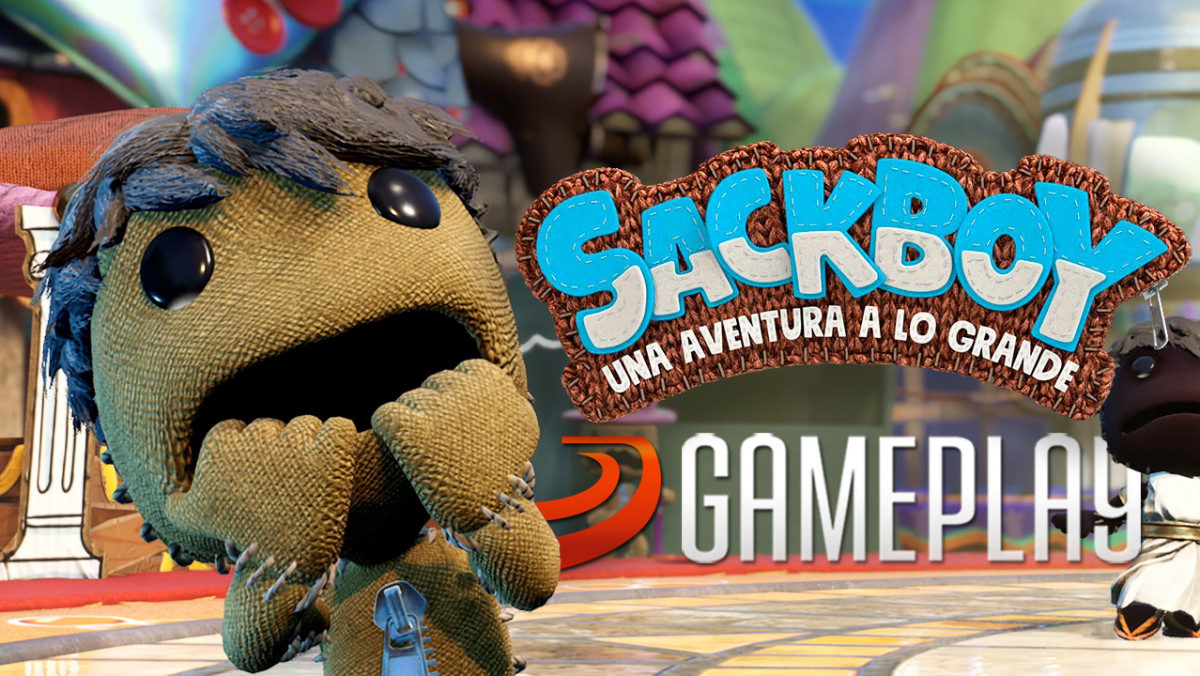 Viajamos por Mundo Artesano en este vídeo gameplay de Sackboy: Una gran aventura