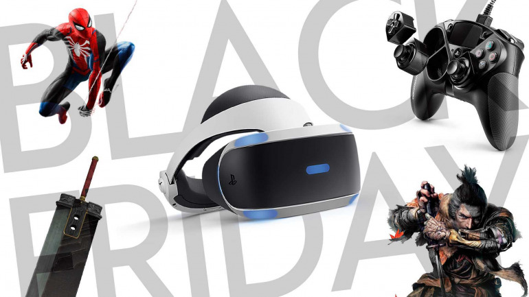 The week of Black Friday 2020 sale on PS4: Console packs, games and accessories on sale