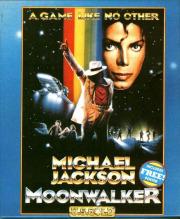 Carátula de Michael Jackson's Moonwalker - C-64