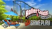 Vídeo gameplay de Roller Coaster Tycoon 3 Complete Edition
