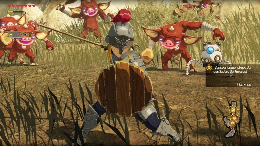 Hyrule Warriors La era del cataclismo análisis