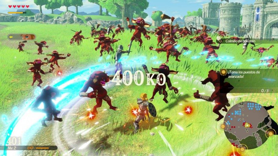Hyrule Warriors La era del cataclismo Nintendo Switch