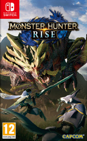 Carátula de Monster Hunter Rise - Nintendo Switch