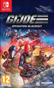 Carátula de G.I. Joe: Operation Blackout - Nintendo Switch