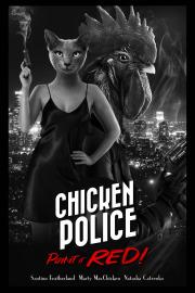 Carátula de Chicken Police - Nintendo Switch