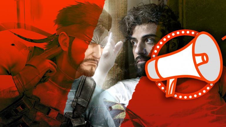 El actor Oscar Isaac será Solid Snake en la película de Metal Gear Solid, ¿qué te parece su elección?