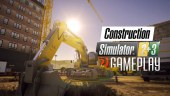 Trabajamos noche y día en este vídeo gameplay de Construction Simulator 2 y 3 Switch Edition
