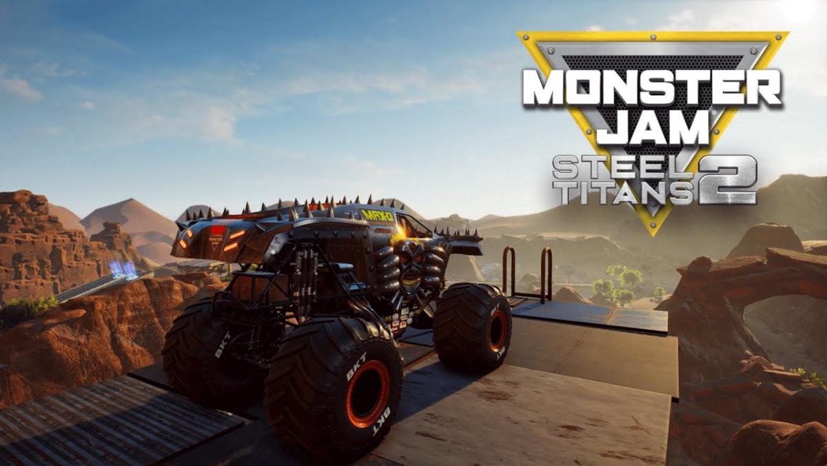 Más camiones, carreras y mundos con Monster Jam Steel Titans 2, que estrena tráiler de lanzamiento