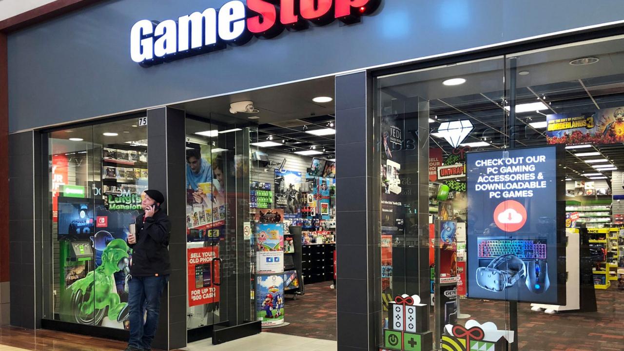 Las acciones de GameStop se disparan hasta su máximo histórico, y la culpa es de Reddit