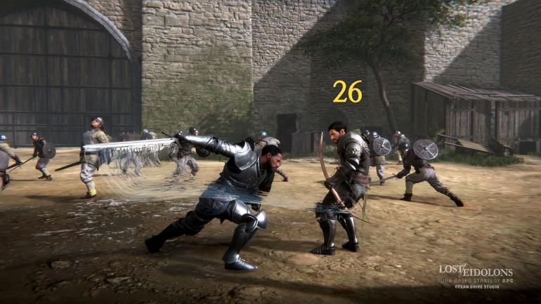 Si te gusta Fire Emblem, este RPG táctico y de estrategia con gráficos realistas te interesa